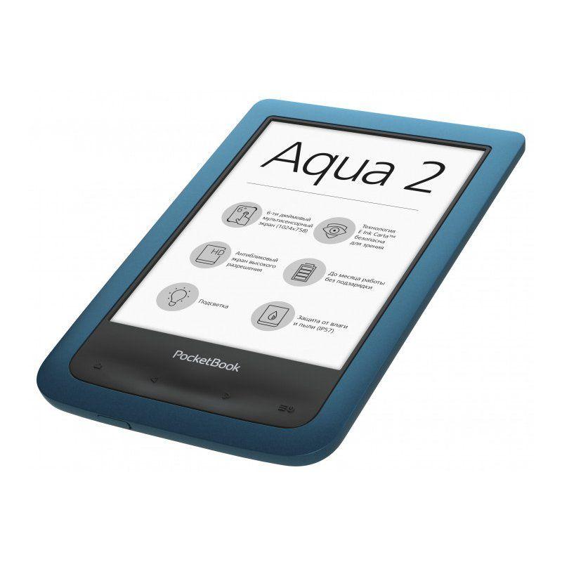 Электронная книга PocketBook 641 Aqua 2 (PB641-A-CIS) Blue/Black купить