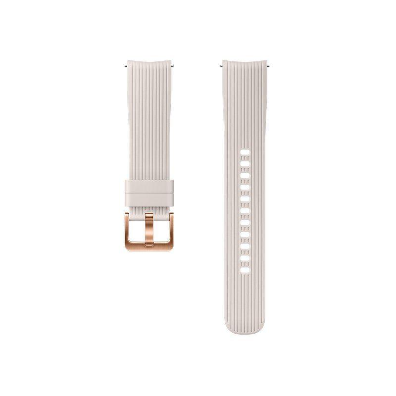 Ремешок для смарт-часов Samsung Silicone Band for Galaxy Watch 42mm (ET-YSU81MSEGRU) Silver купить