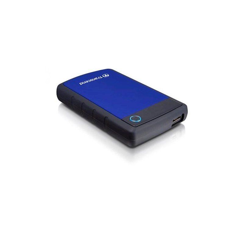 Внешний жесткий диск 1Tb Transcend StoreJet (TS1TSJ25H3B) Blue купить