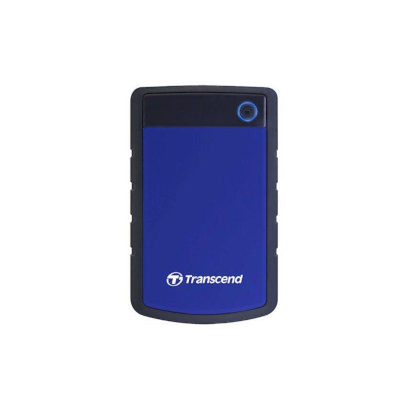 Внешний жесткий диск 1Tb Transcend StoreJet (TS1TSJ25H3B) Blue