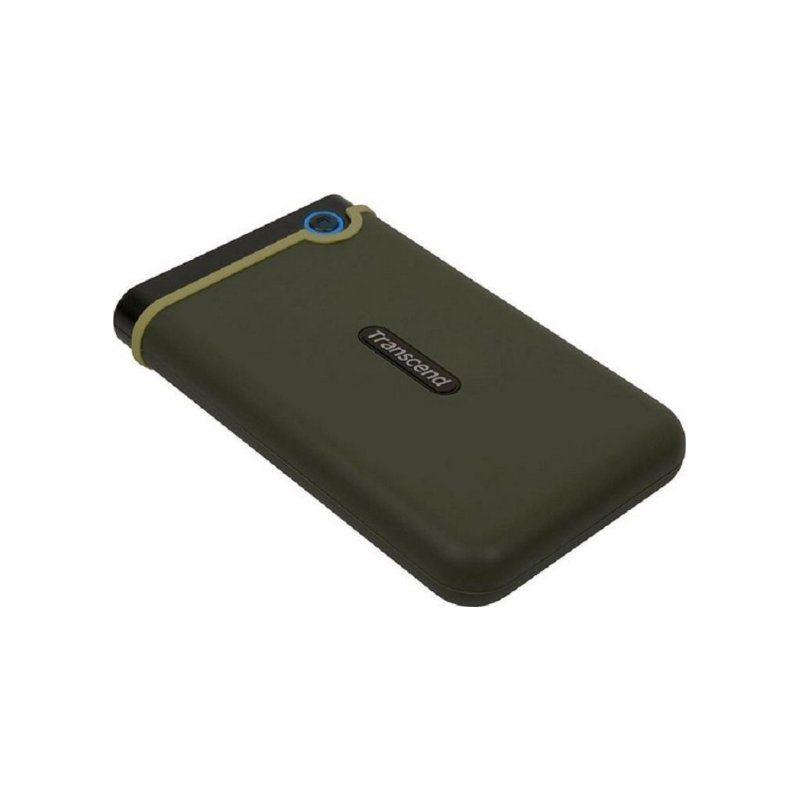 Внешний жесткий диск 1Tb Transcend StoreJet (TS1TSJ25M3G) Military Green купить