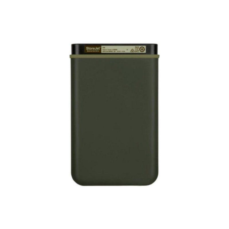 Внешний жесткий диск 2Tb Transcend StoreJet (TS2TSJ25M3G) Military Green купить