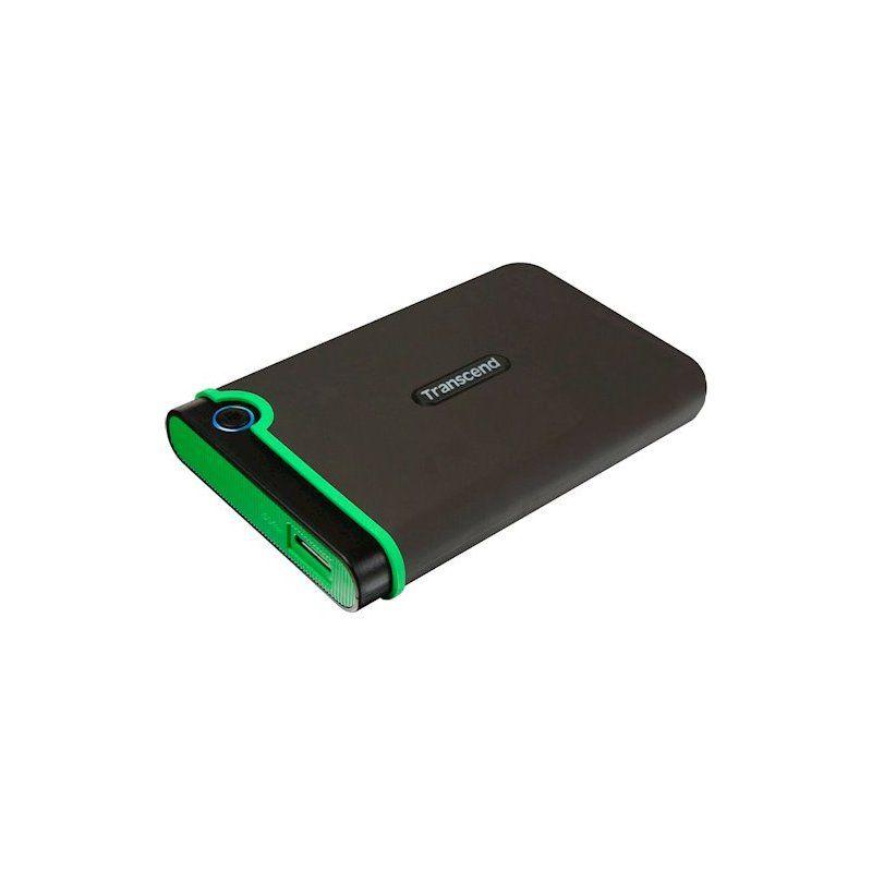 Внешний жесткий диск 1Tb Transcend StoreJet (TS1TSJ25MC) Black/Green купить