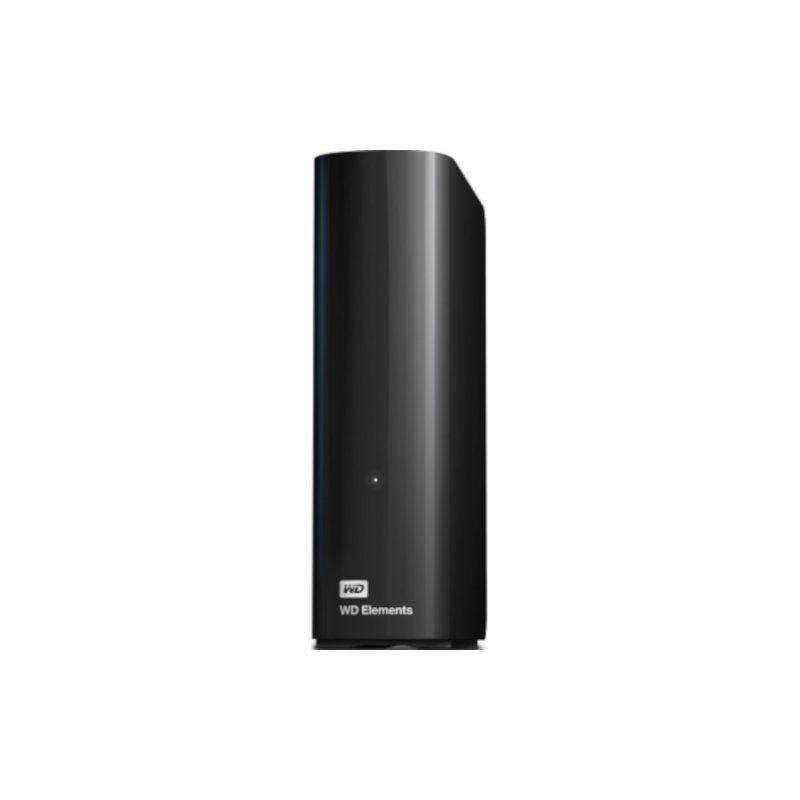 Внешний жесткий диск 4Tb Western Digital Elements Desktop (WDBWLG0040HBK-EESN)