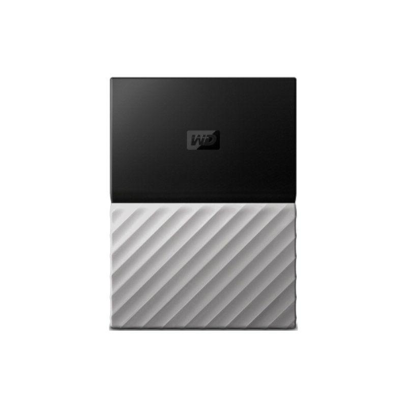 Внешний жесткий диск 2Tb Western Digital My Passport Ultra (WDBTLG0020BGY-WESN) Gray