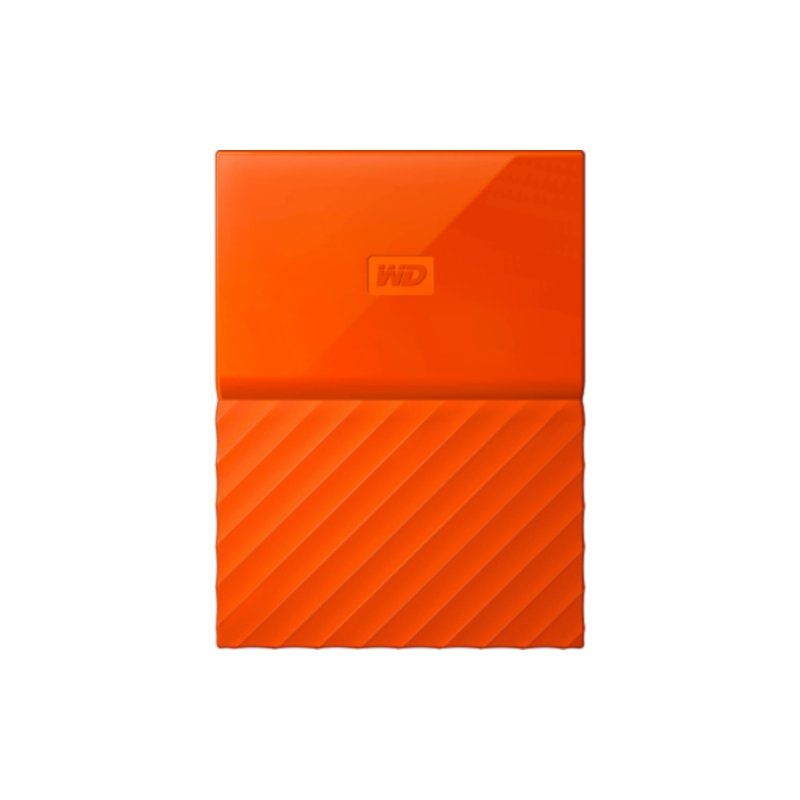 Внешний жесткий диск 4Tb Western Digital My Passport (WDBYFT0040BOR-WESN) Orange