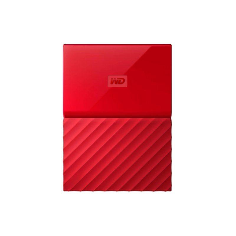 Внешний жесткий диск 4Tb Western Digital My Passport (WDBYFT0040BRD-WESN) Red