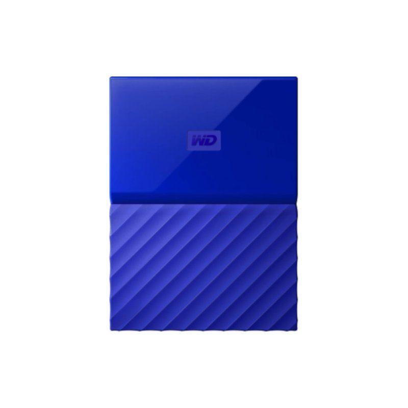 Внешний жесткий диск 1Tb Western Digital My Passport (WDBYNN0010BBL-WESN) Blue