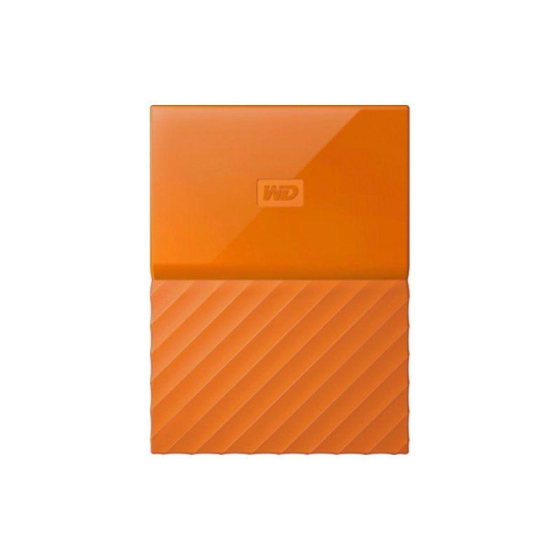 Внешний жесткий диск 1Tb Western Digital My Passport (WDBYNN0010BOR-WESN) Orange