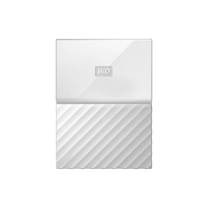 Внешний жесткий диск 1Tb Western Digital My Passport (WDBYNN0010BWT-WESN) White