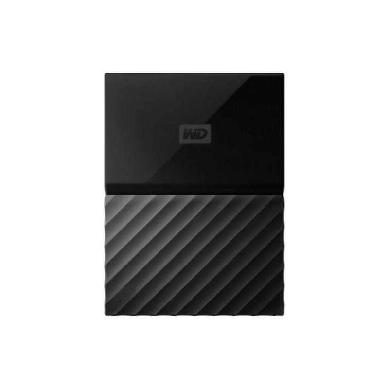 Внешний жесткий диск 3Tb Western Digital My Passport (WDBYFT0030BBK-WESN) Black