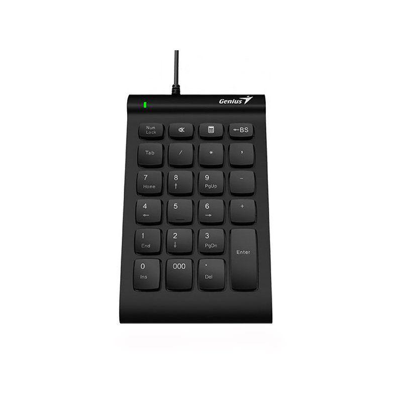 Клавиатура числовая Genius Numpad i130 USB (31300003400) Black