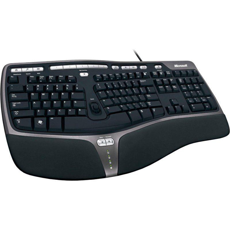 Клавиатура Microsoft Natural Ergonomic Keyboard 4000 USB (B2M-00020) Black Ru купить