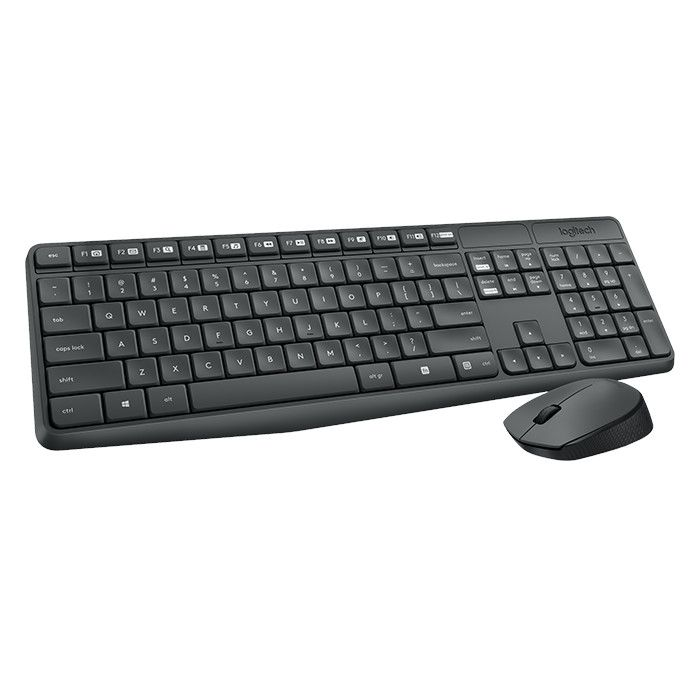 Комплект Logitech Cordless Desktop MK235 Wireless (920-007948) Ru