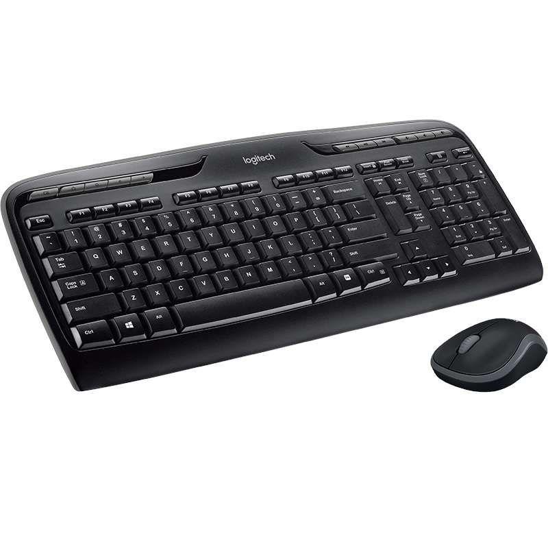 Комплект Logitech Cordless Desktop MK330 (920-003995) Ru купить