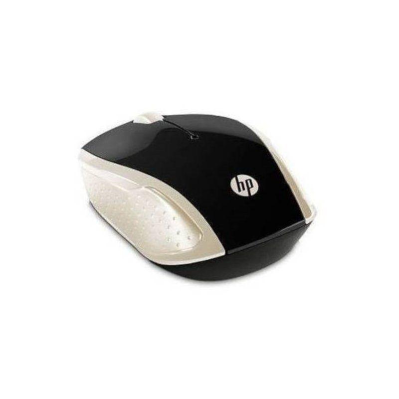 Мышь HP Wireless 200 Silk (2HU83AA) Gold купить