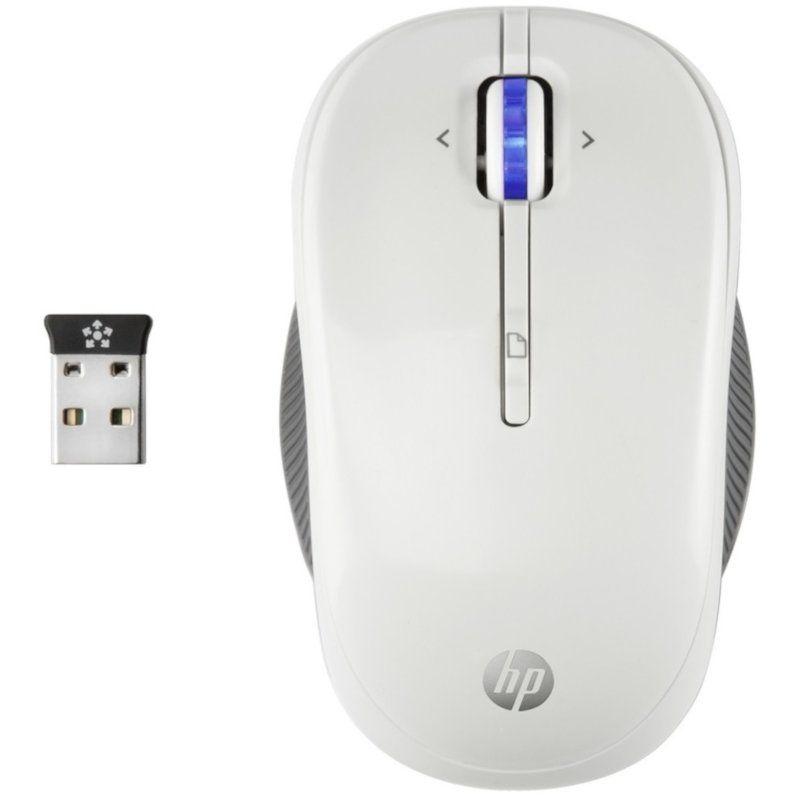 Мышь HP X3300 WL (H4N94AA) White