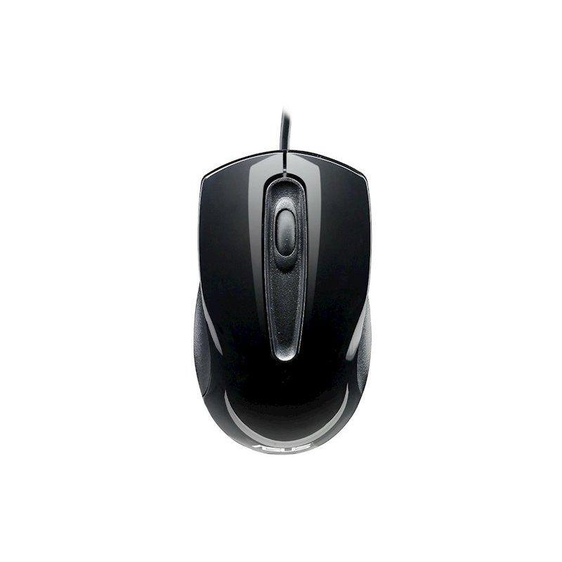 Мышь Asus USB Optical UT200 Glossy (90-XB0L00MU00040) Black