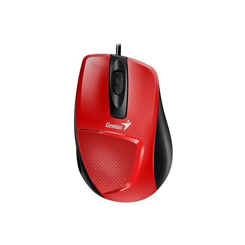 Мышь Genius DX-150X USB (31010231101) Red/Black