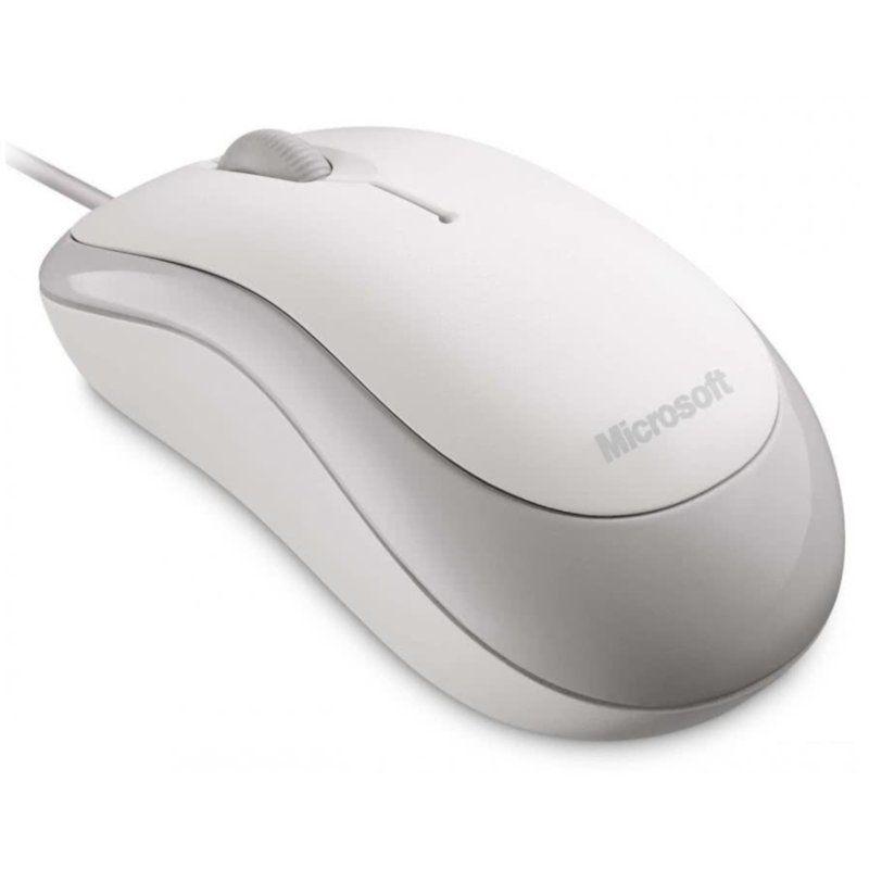 Мышь Microsoft Basic USB for Business (4YH-00008) White