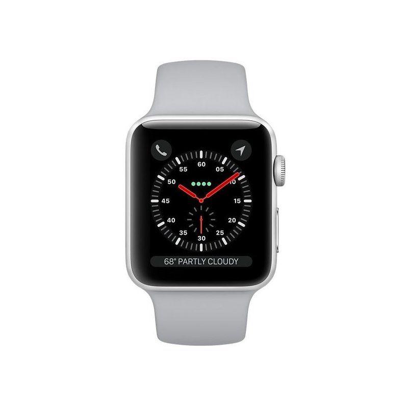 Смарт-часы Apple Watch Series 3 38mm GPS (MQKU2) Silver Aluminium Case with Fog Sport Band