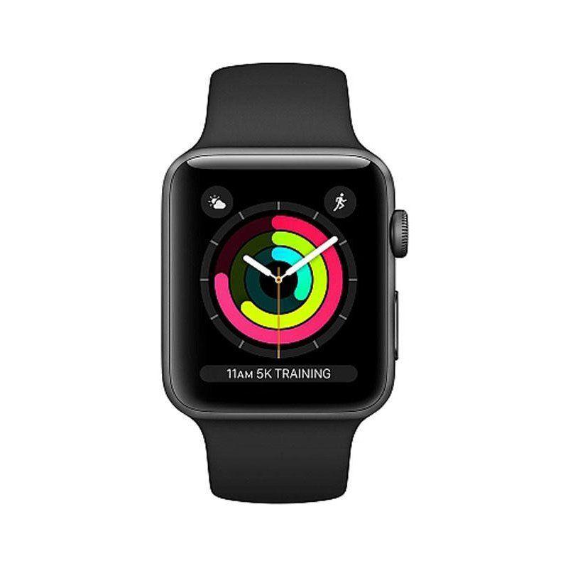 Смарт-часы Apple Watch Series 3 38mm GPS (MQKV2) Space Grey Aluminium Case with Black Sport Band