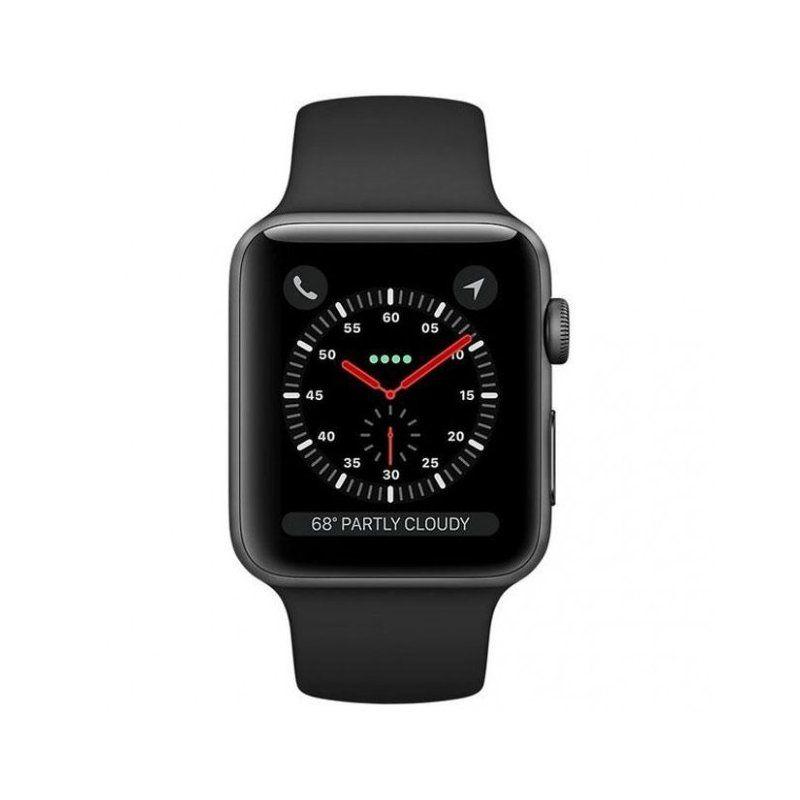 Смарт-годинник Apple Watch Series 4 40mm GPS (MU662) Space Gray Aluminum Case with Black Sport Band