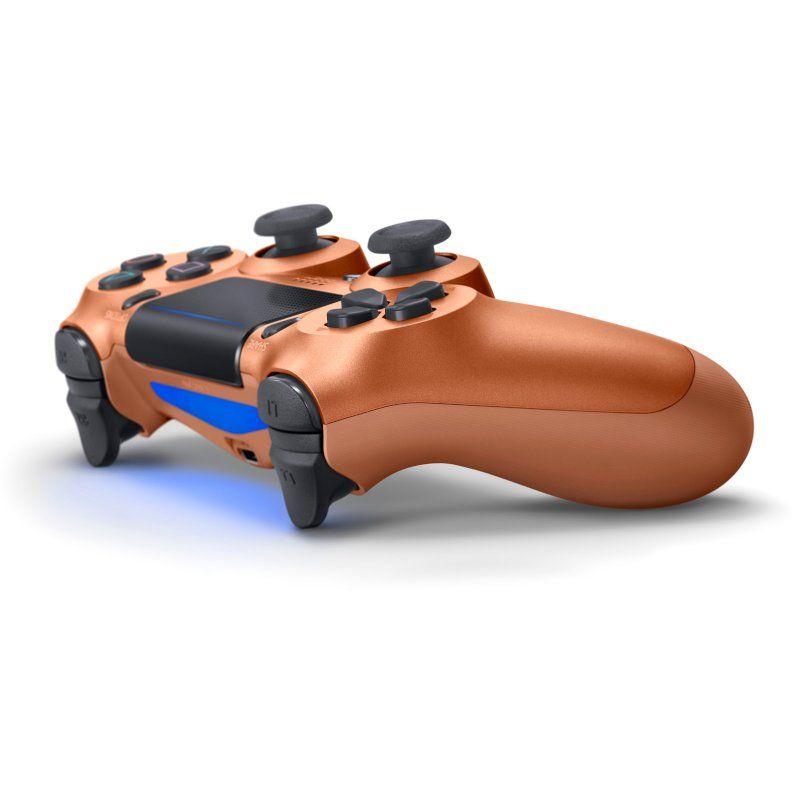 Беспроводной геймпад Sony PlayStation Dualshock v2 Metalic Cooper недорого