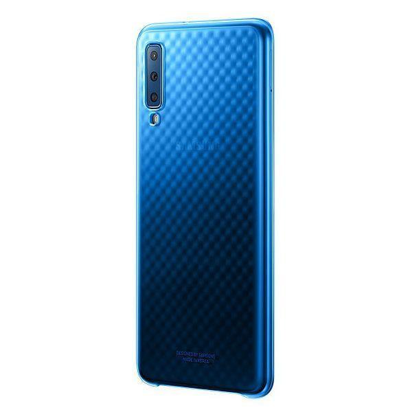 Чехол Samsung Gradation Cover для Galaxy A7 2018 (Blue) купить