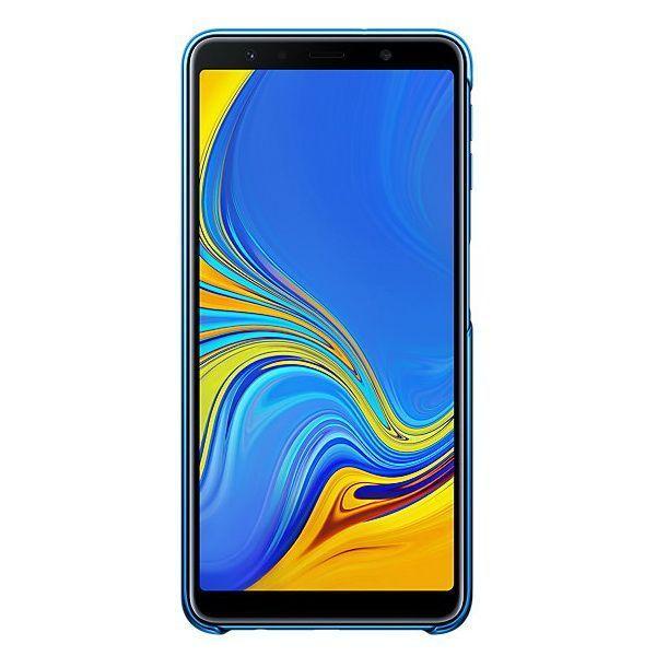 Чехол Samsung Gradation Cover для Galaxy A7 2018 (Blue) недорого