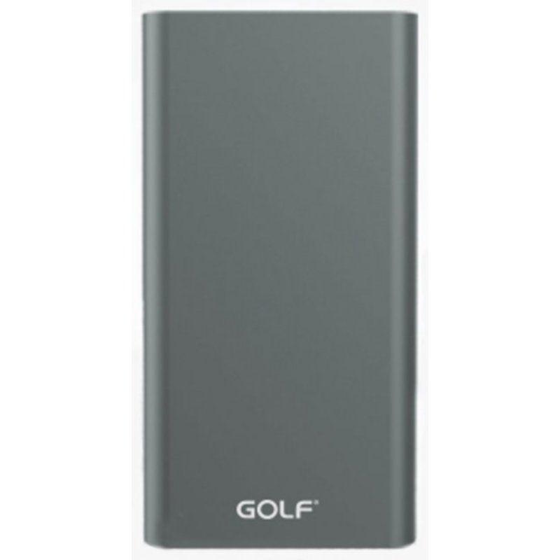 Портативный аккумулятор 10000mAh Golf Edge 10 Li-pol Grey