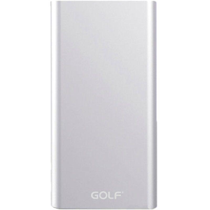 Портативный аккумулятор 10000mAh Golf Edge 10 Li-pol Silver