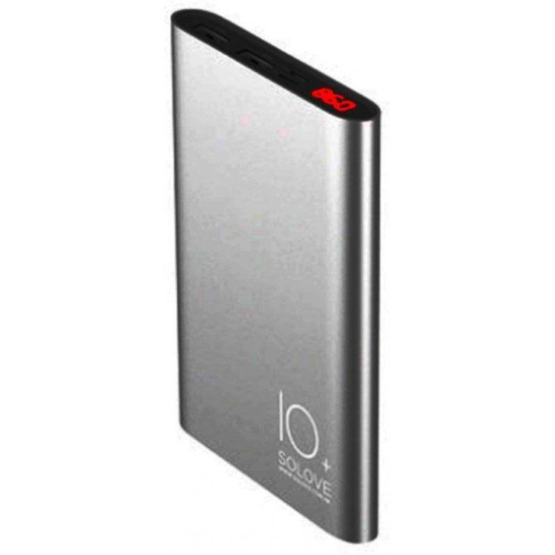 Портативный аккумулятор 10000mAh Solove A9s Metallic Grey