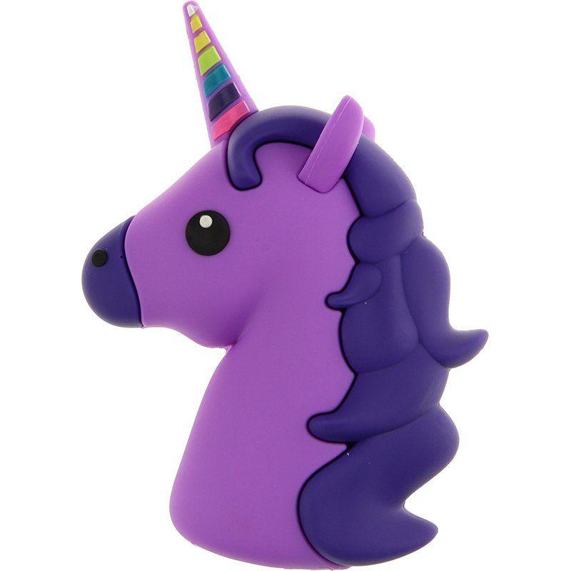 Портативный аккумулятор 8800mAh TOTO TBHQ-91 Emoji Unicorn Purple