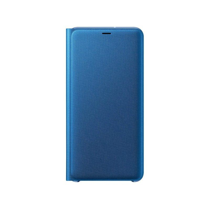 Чехол Samsung Wallet Cover для Galaxy A7 2018 (Blue) недорого