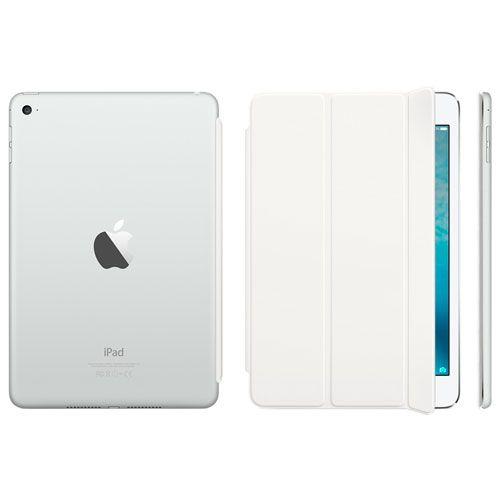 Чехол Apple Smart Cover для iPad mini 4 (MKLW2) White купить