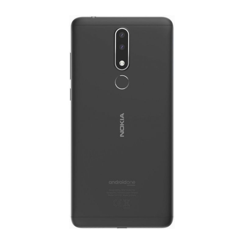 Смартфон Nokia 3.1 Plus Dual Sim (TA-1104) Marengo фото