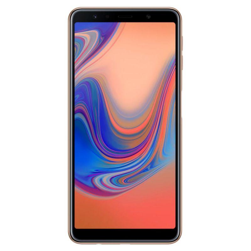 Смартфон Samsung Galaxy A7 2018 Gold купить