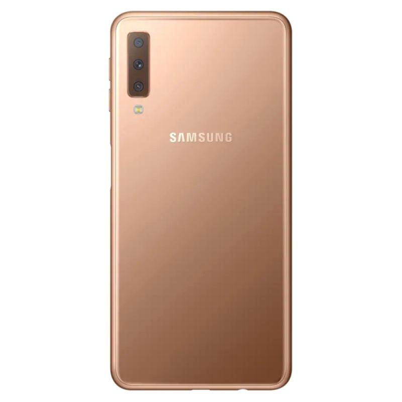 Смартфон Samsung Galaxy A7 2018 Gold недорого