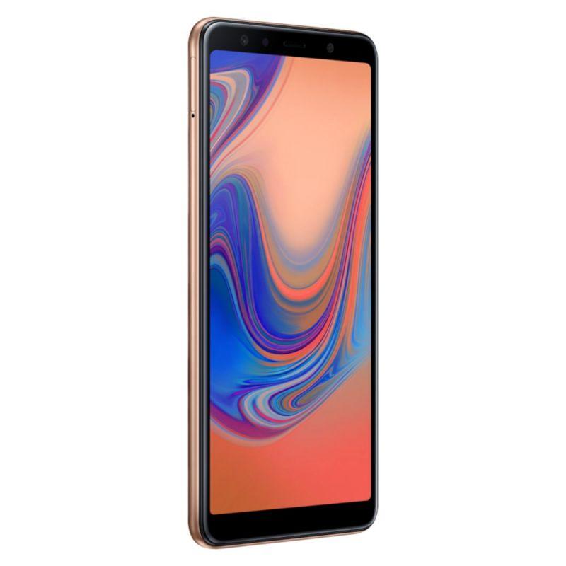 Смартфон Samsung Galaxy A7 2018 Gold в интернет-магазине