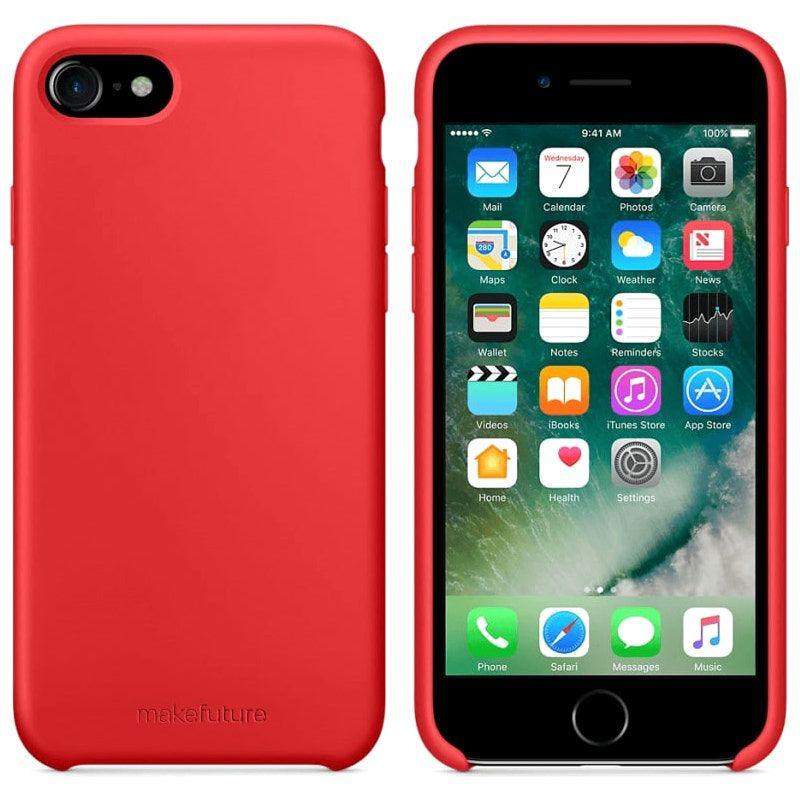 Чохол MakeFuture Silicone для Apple iPhone 7 (MCS-AI7RD) Red купить