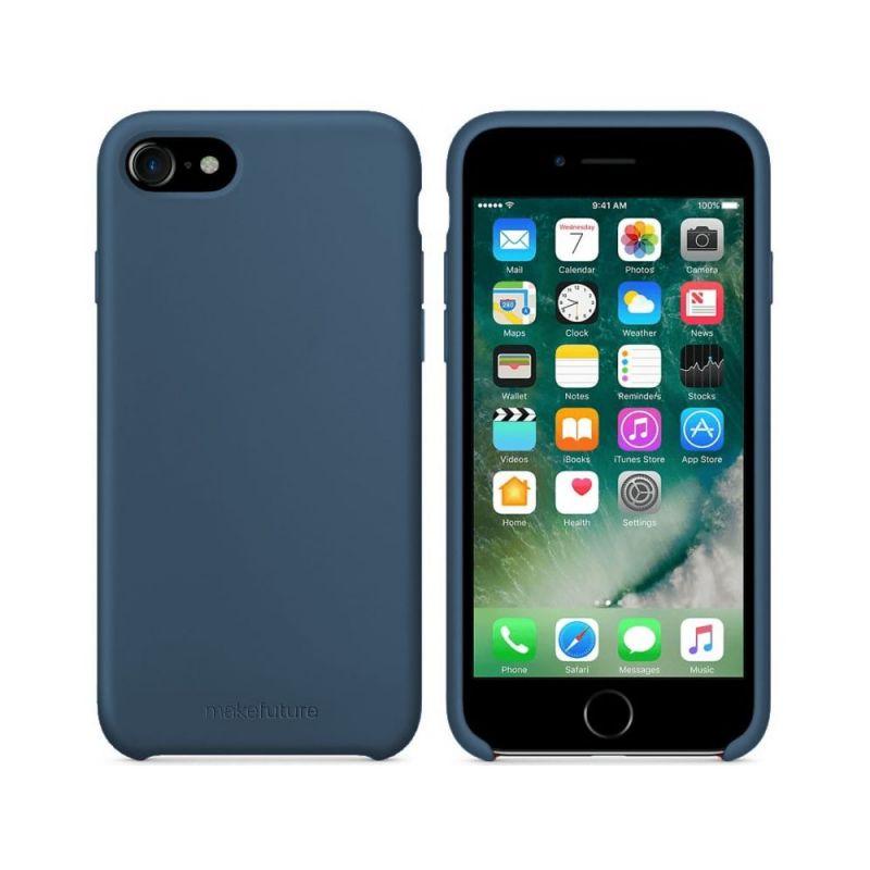 Чехол MakeFuture Silicone для Apple iPhone 8 (MCS-AI8BL) Blue купить