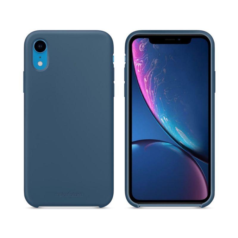 Чехол MakeFuture Silicone для Apple iPhone XR (MCS-AIXRBL) Blue купить