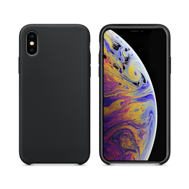Чехол MakeFuture Silicone для Apple iPhone XS (MCS-AIXSBK) Black купить