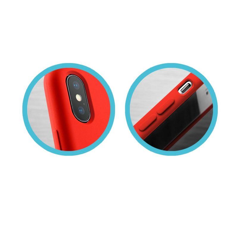 Чехол MakeFuture Silicone для Apple iPhone XS Max (MCS-AIXSMRD) Red в Украине