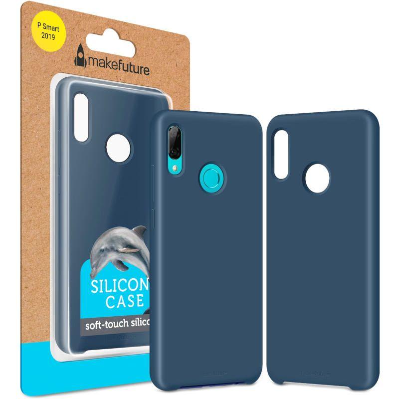 Чехол MakeFuture Silicone для Huawei P Smart 2019 (MCS-HUPS19BL) Blue купить