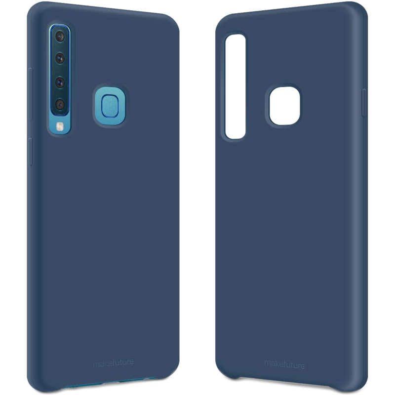Чехол MakeFuture Silicone для Samsung A9 2018 A920 (MCS-SA920BL) Blue