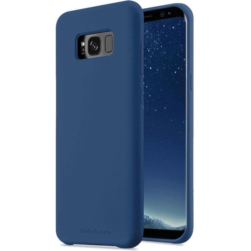 Чехол MakeFuture Silicone для Samsung S8 (MCS-SS8BL) Blue
