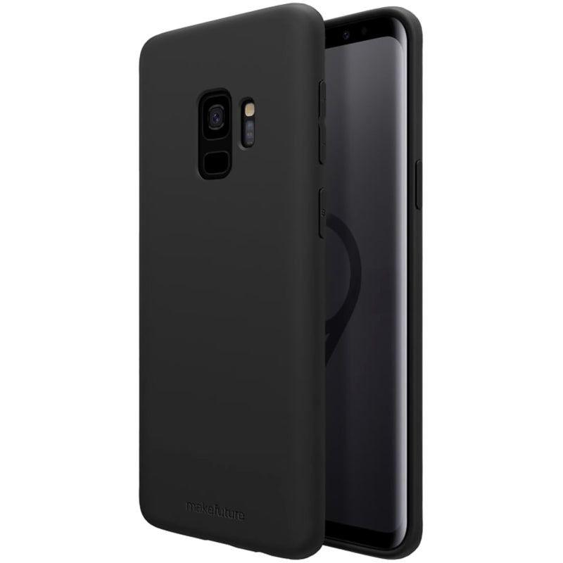 Чехол MakeFuture Silicone для Samsung S9 (MCS-SS9BK) Black