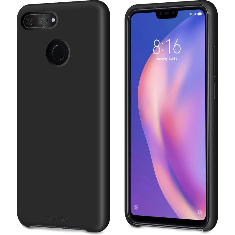 Чехол MakeFuture Silicone для Xiaomi Mi 8 Lite (MCS-XM8LBK) Black